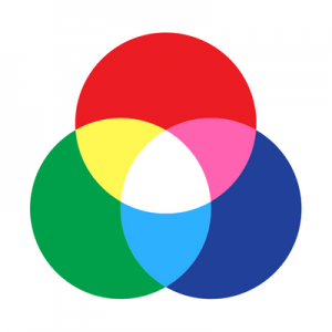 Color wheel shows how color theory helps a website
