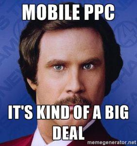 Mobile PPC Meme