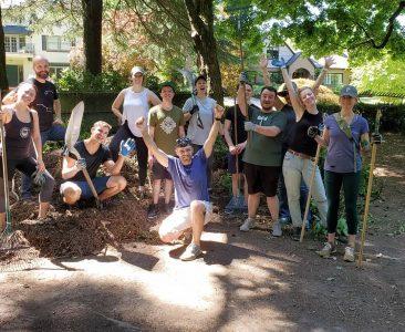 Intuitive Team Volunteered Laurelhurst Park Clean Up
