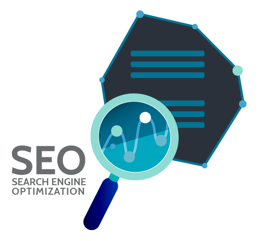 seo search engine optimization logo
