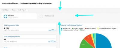 Adding Segment in Google Analytics