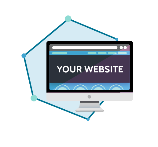 website design graphic