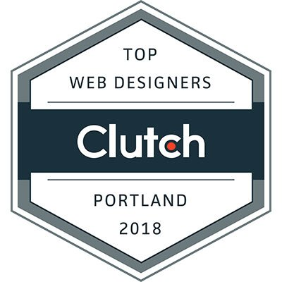 Clutch top web designers logo