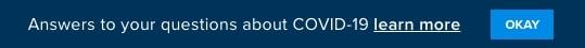 covid-19 website cta banner