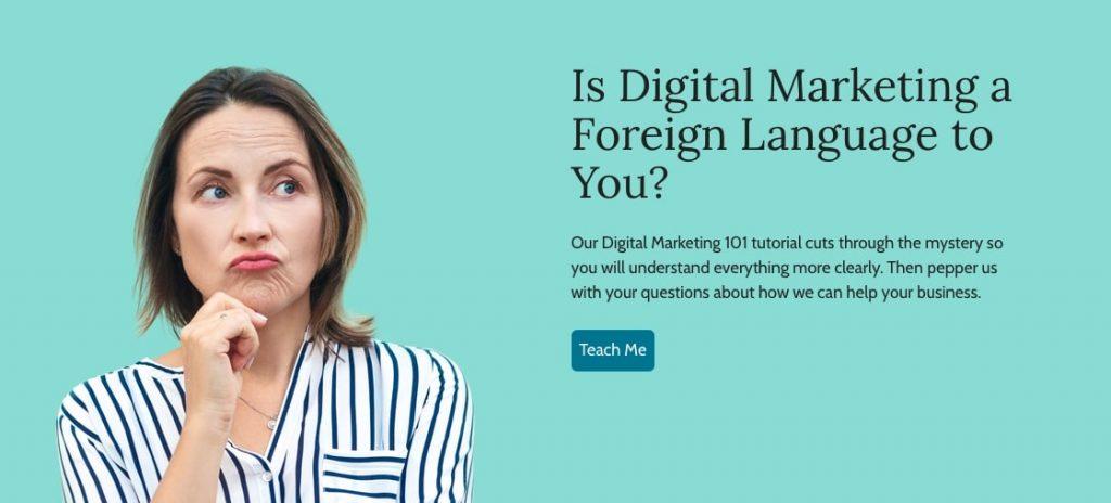 digital marketing cta button